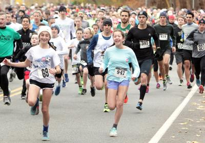 Thanksgiving Day Race - Sandwich