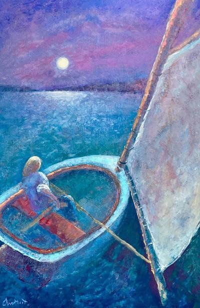 CCoCC Art Reception WE4_Susan Overstreet_Adrift