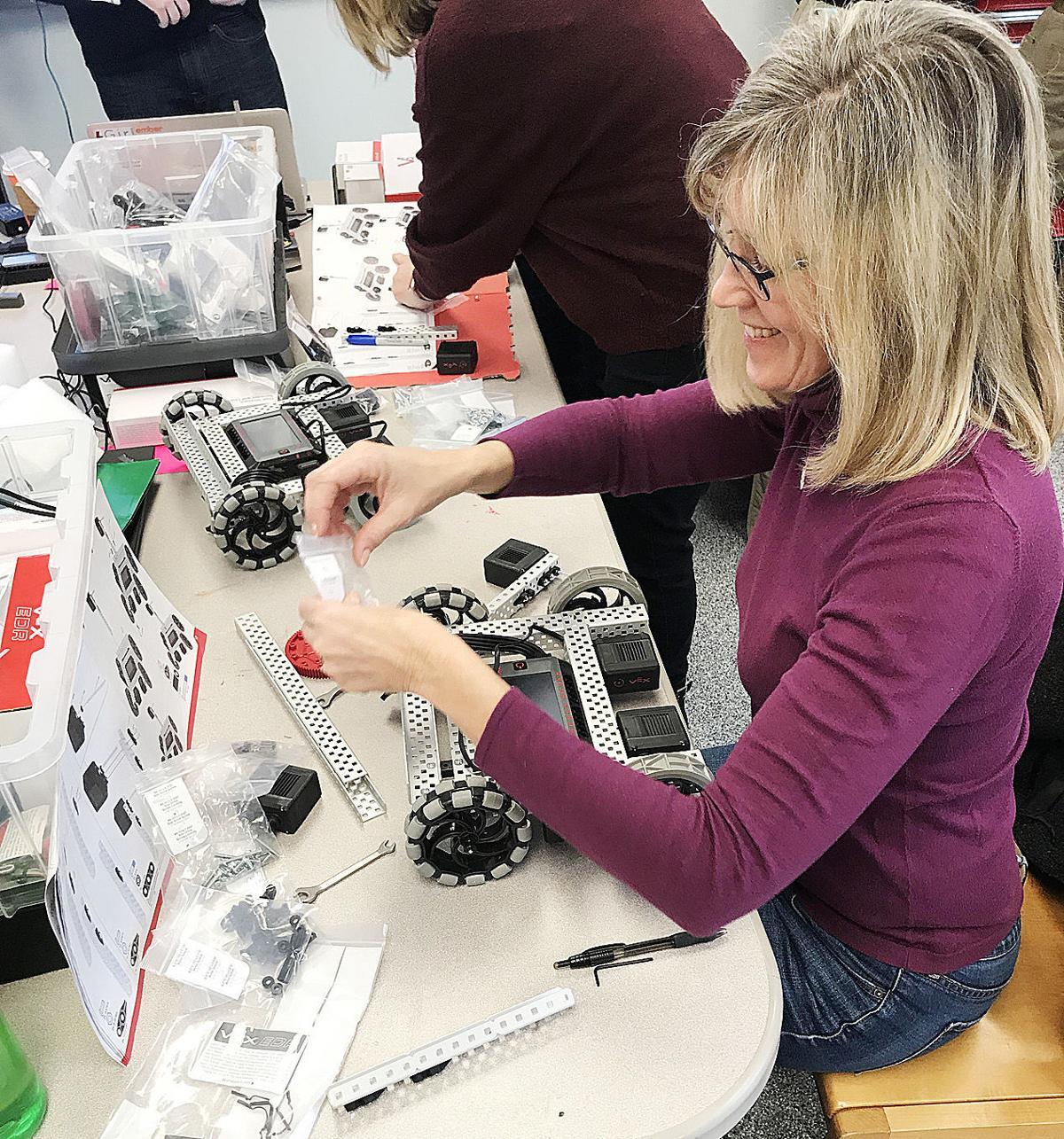 Robotics Education At Mashpee Middle/High School