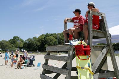 Bourne Lifeguards At Monument Beach