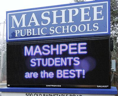 Mashpee Middle/High School Sign