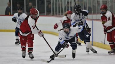 Sandwich Girls' Hockey vs. Barnstable — January 11, 2020