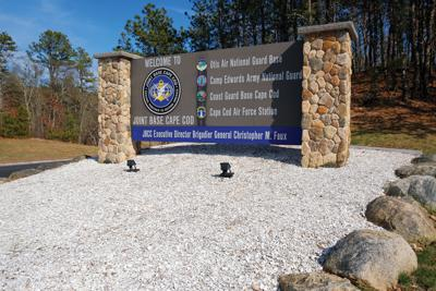 Joint Base Cape Cod Sign