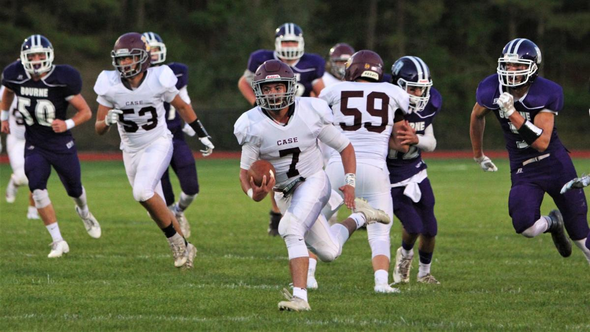 Bourne Football vs. Case — September 27, 2019