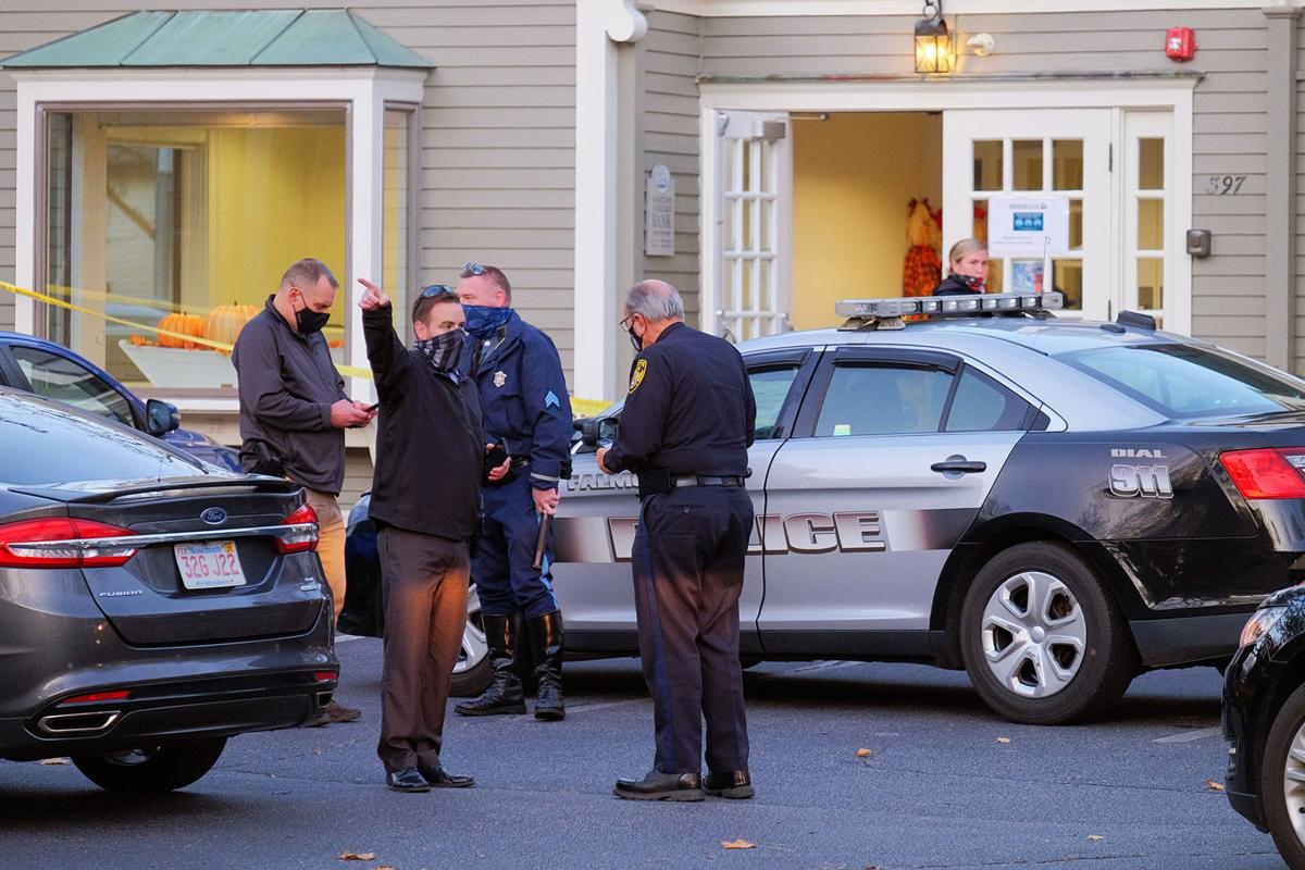Martha's Vineyard Bank Robbery, November 16, 2020
