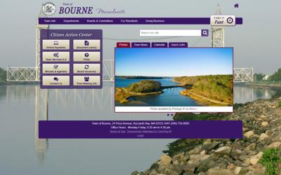 Bourne Town Website