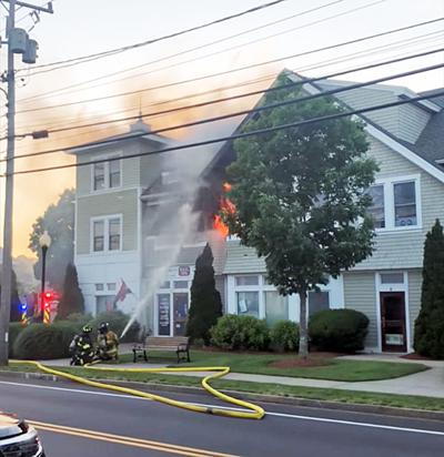 Fire At Falmouth Housing Corporation