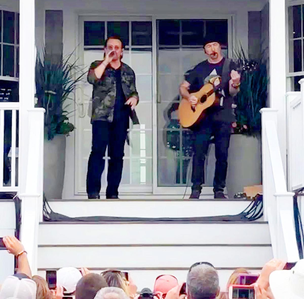 U2 Delights A Crowd In Gray Gables | Bourne News | capenews net
