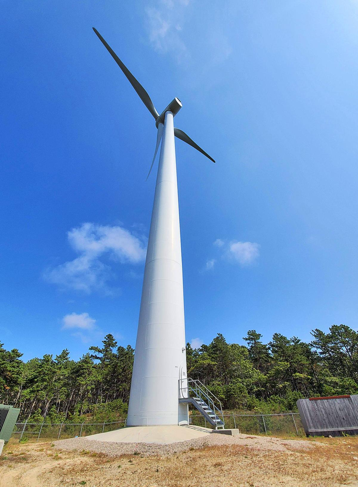 Joint Base Wind Turbine