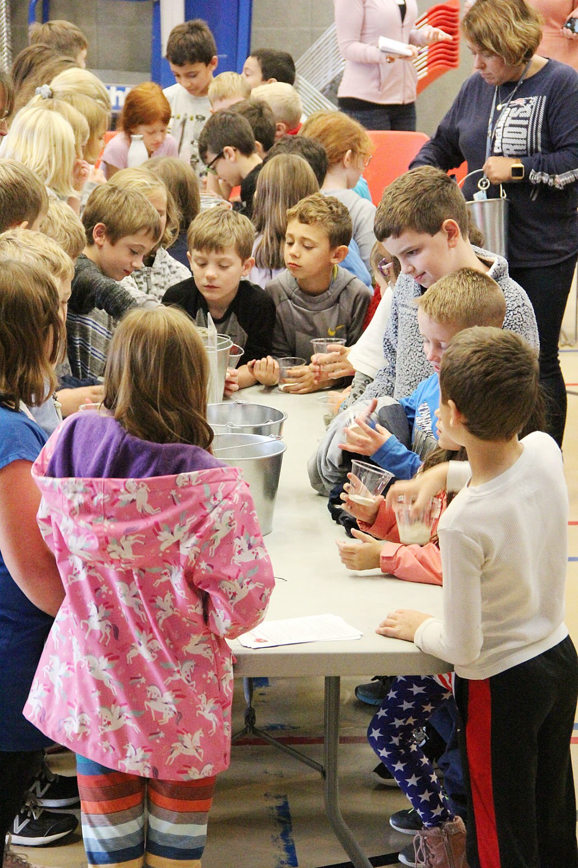 Cranberry And Healthy Food Education Day At Forestdale School