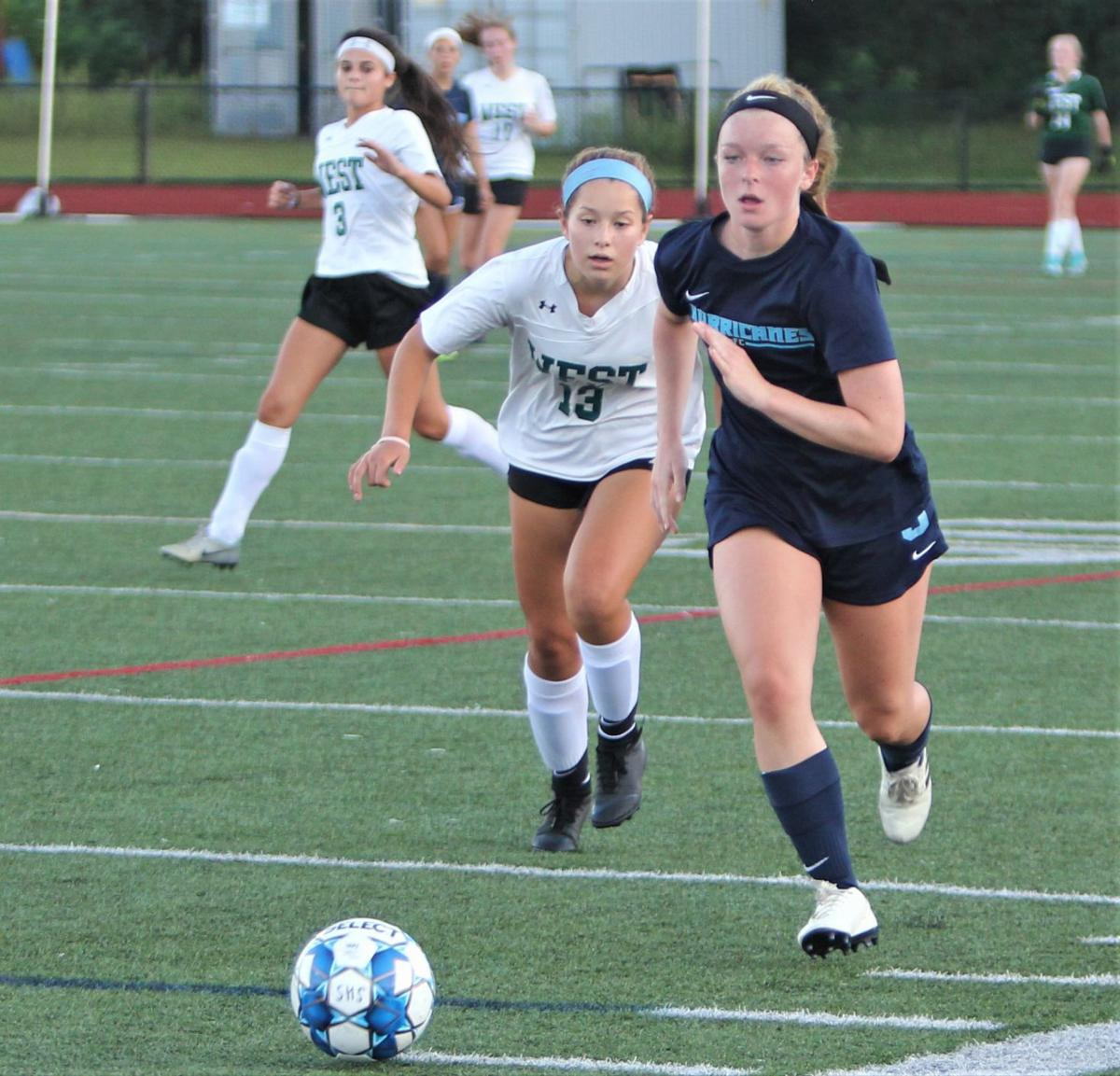 Sandwich Girls' Soccer vs Sturgis West — September 3, 2019