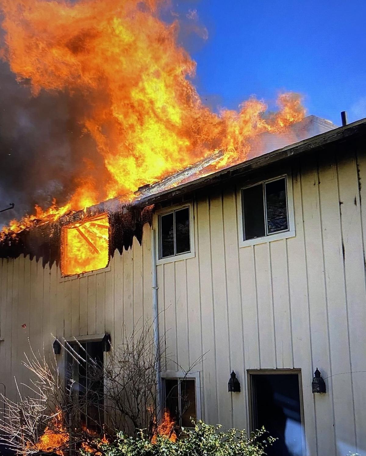 Wind-Driven Fire In Waquoit