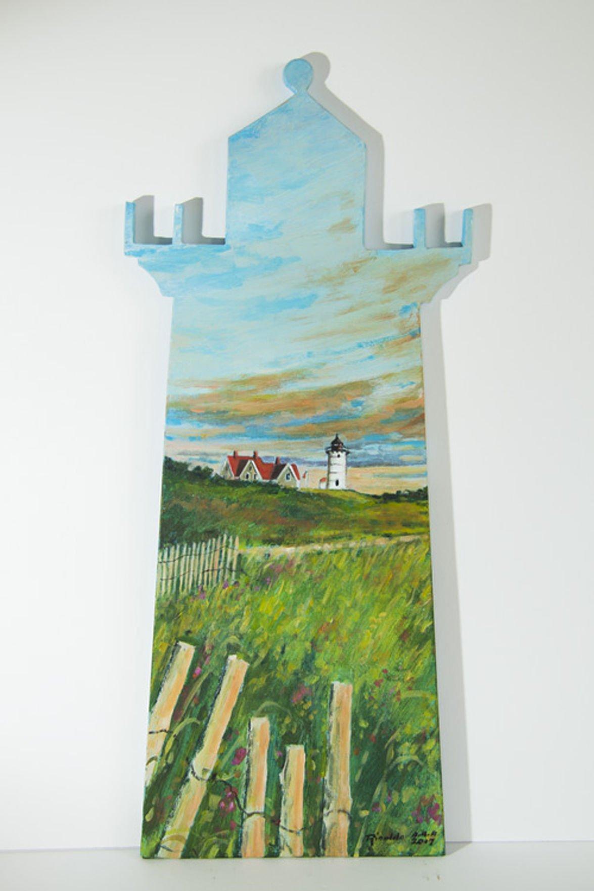 Lighthouse By Artist Karen Rinaldo