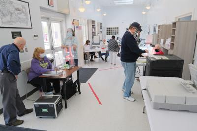Bourne Voting, May 19, 2020