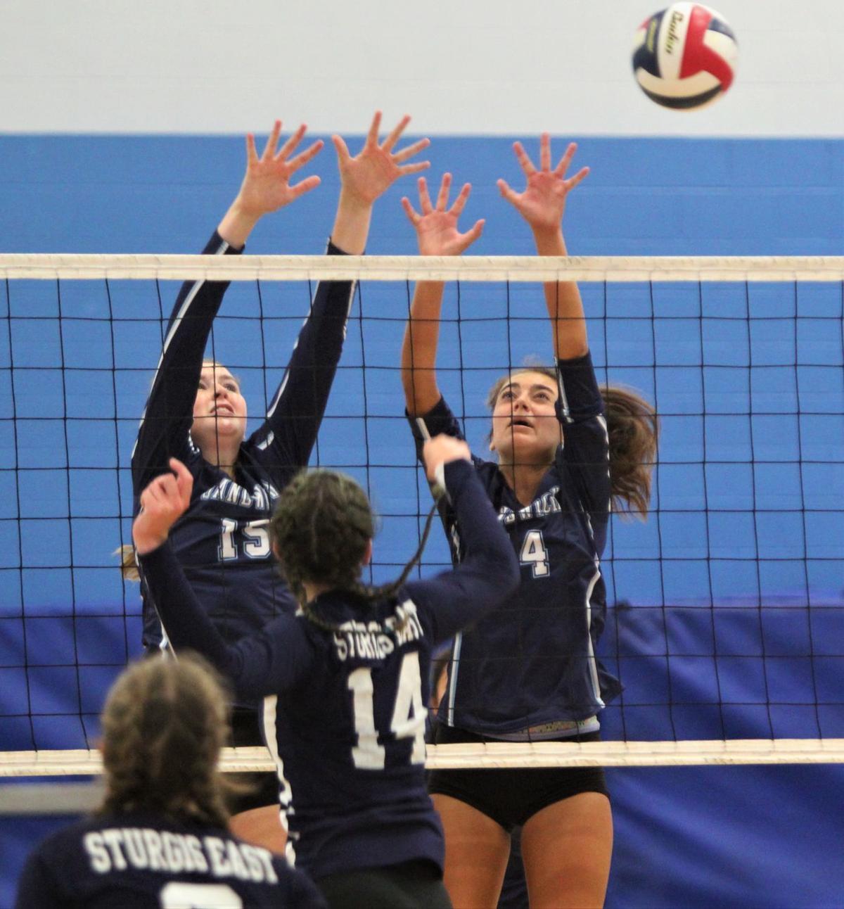 Sandwich Volleyball vs. Sturgis East — September 5, 2019