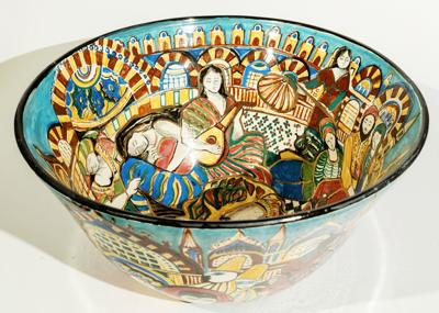 FAC Large Bowl Venice to Istanbul