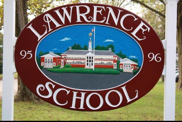 Lawrence School Sign