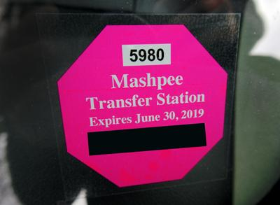 Mashpee Transfer Station Sticker