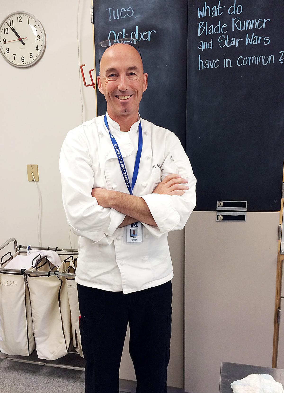 Teacher William Stoloski