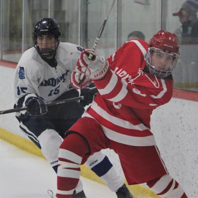 Sandwich Boys' Hockey vs Barnstable — December 31, 2019 (copy)