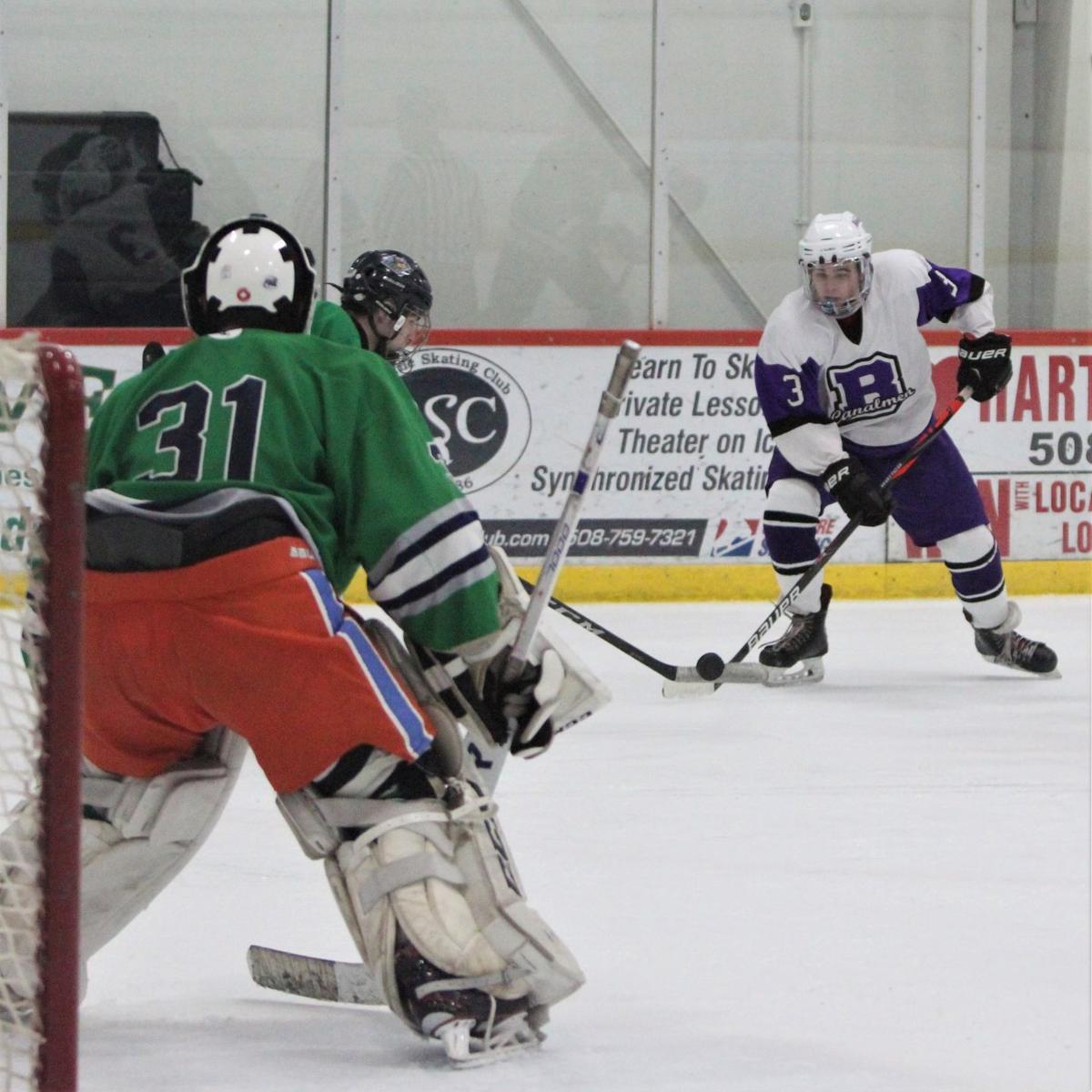 Bourne Boys' Hockey vs Dighton-Rehoboth/Seekonk — December 28, 2019