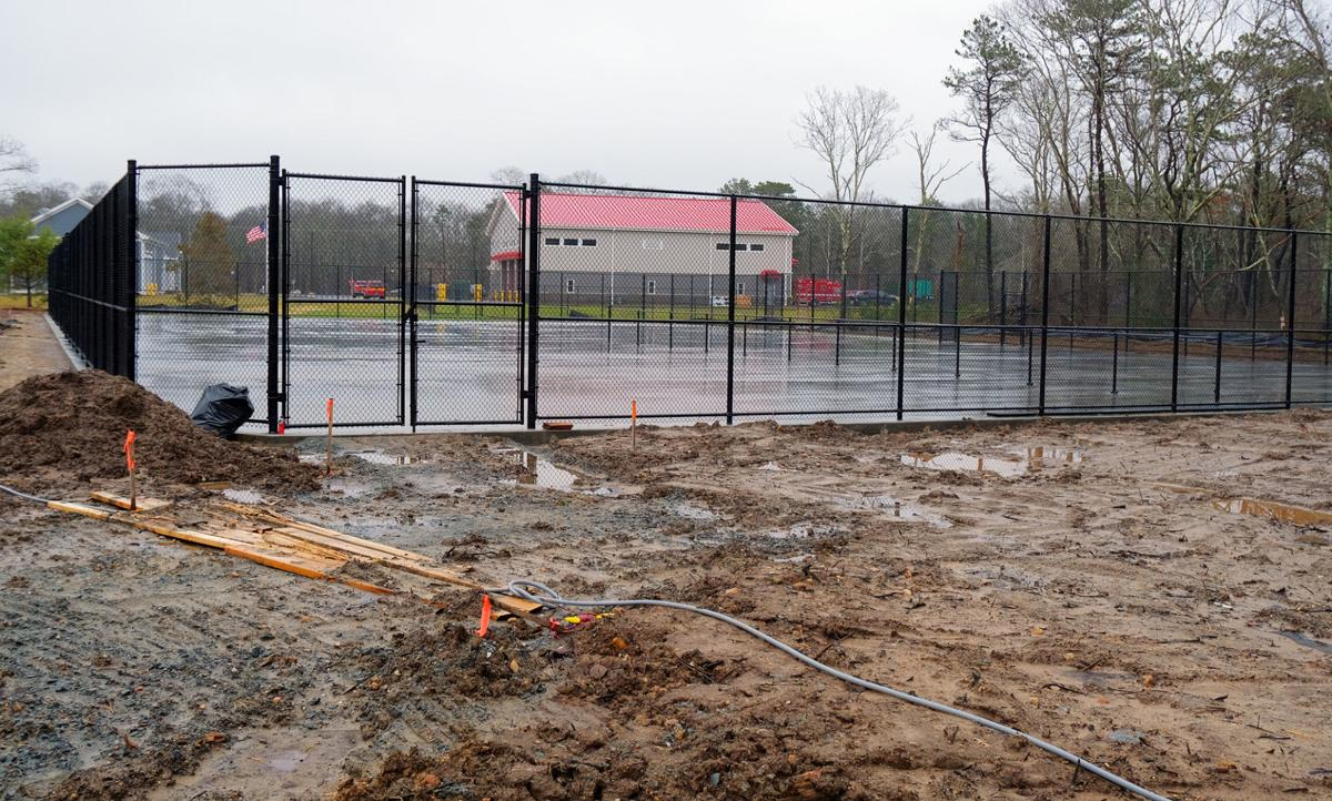 New Pickleball And Tennis Courts
