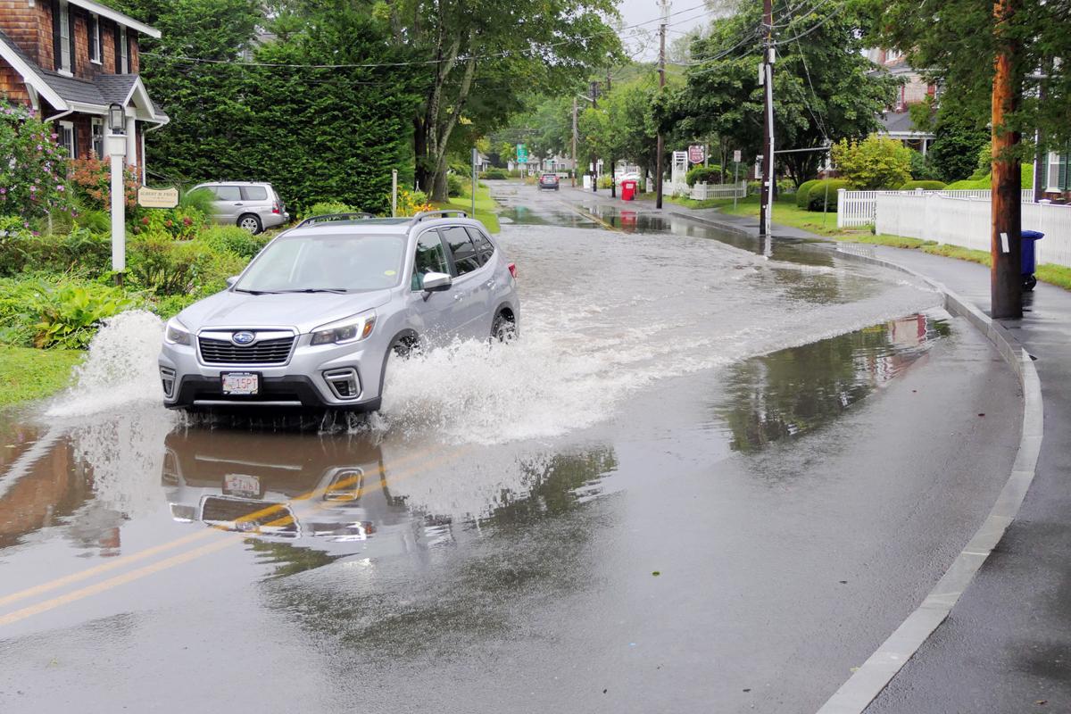 Palmer Avenue Flooding, Septemebr 2, 2021