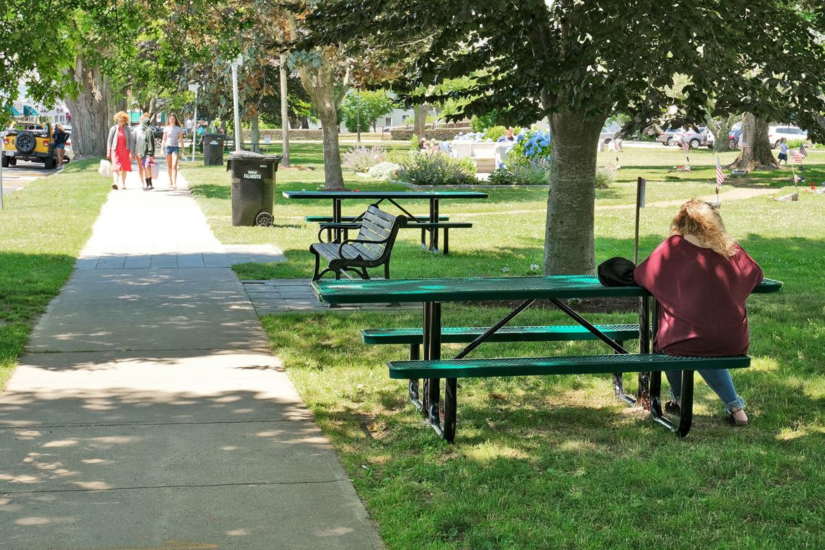 Library Picnic Tables