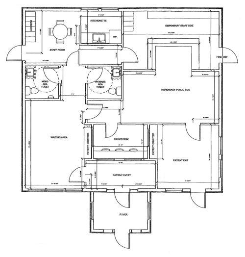 Floorplan Of Future Medical Marijuana Facility Capenews Net