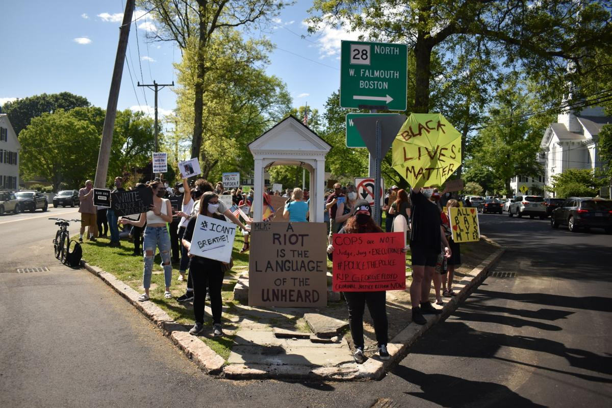 Hundreds Gather At Village To Confront Racism