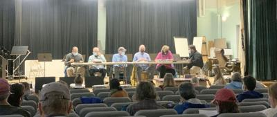 Members Of The Board Of Health Are Joined By Falmouth Residents To Discuss Proposed Poultry Regulation
