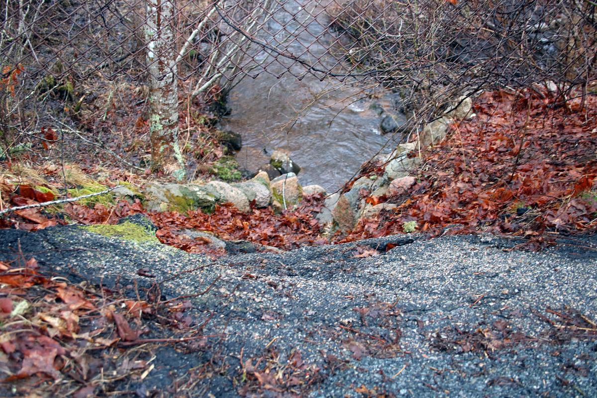 Outfalls Quashnet River