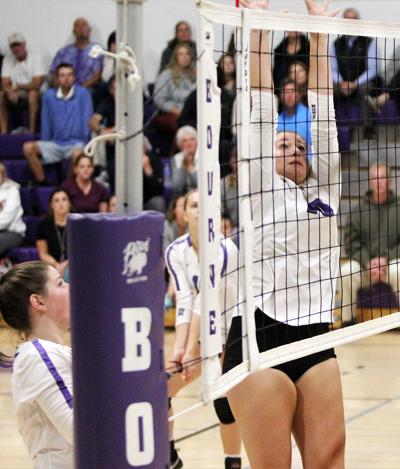 Bourne Volleyball vs Duxbury - October 21, 2019