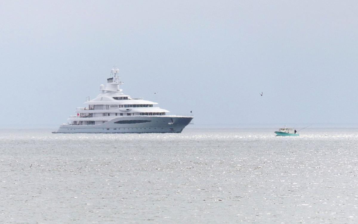 World-Class Mega-Yacht Sails Into Sandwich Waters   Sandwich News