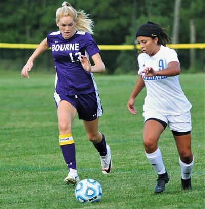 Bourne Girls' Soccer vs Fairhaven — September 9, 2019