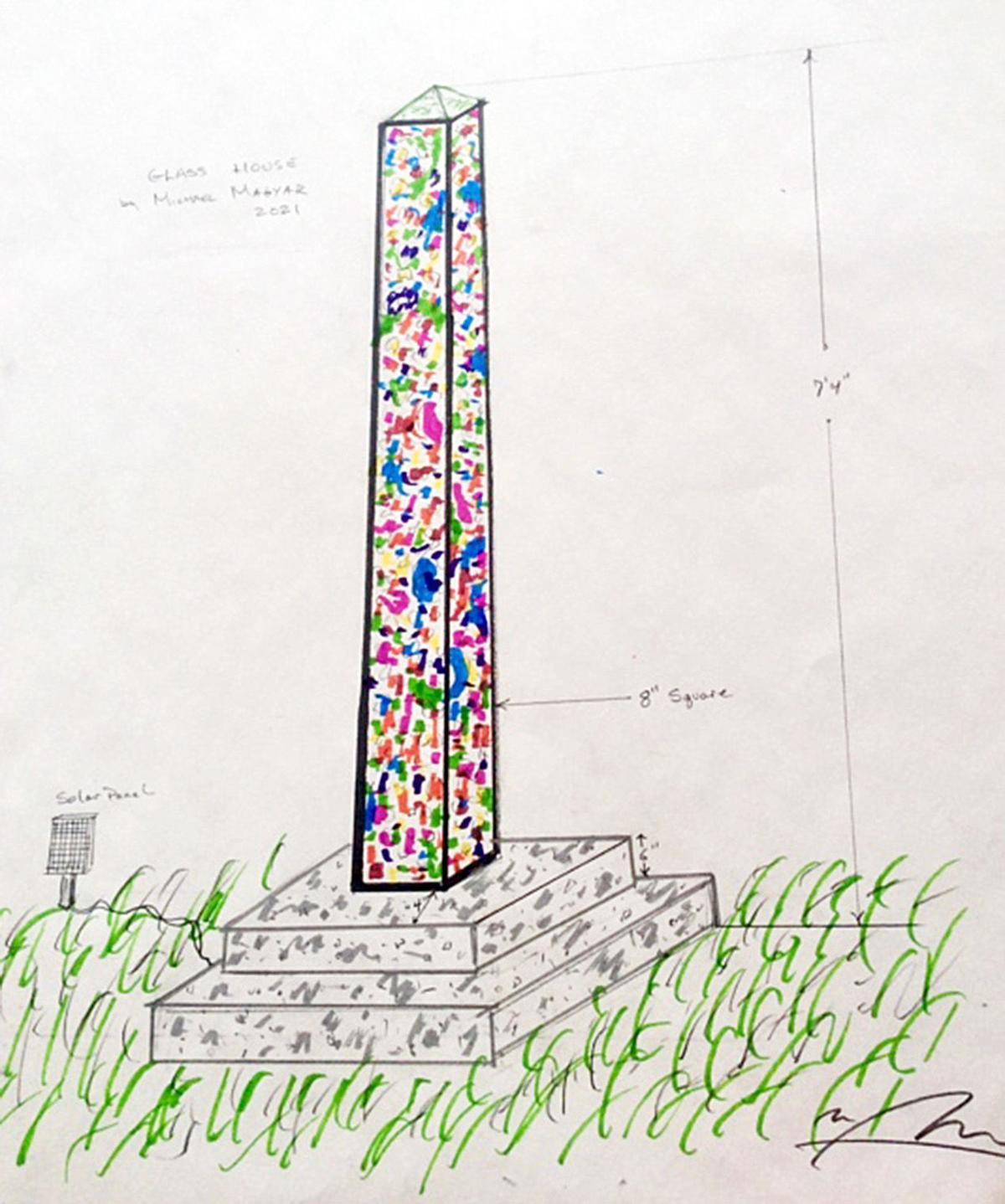 Glasstown Obelisk