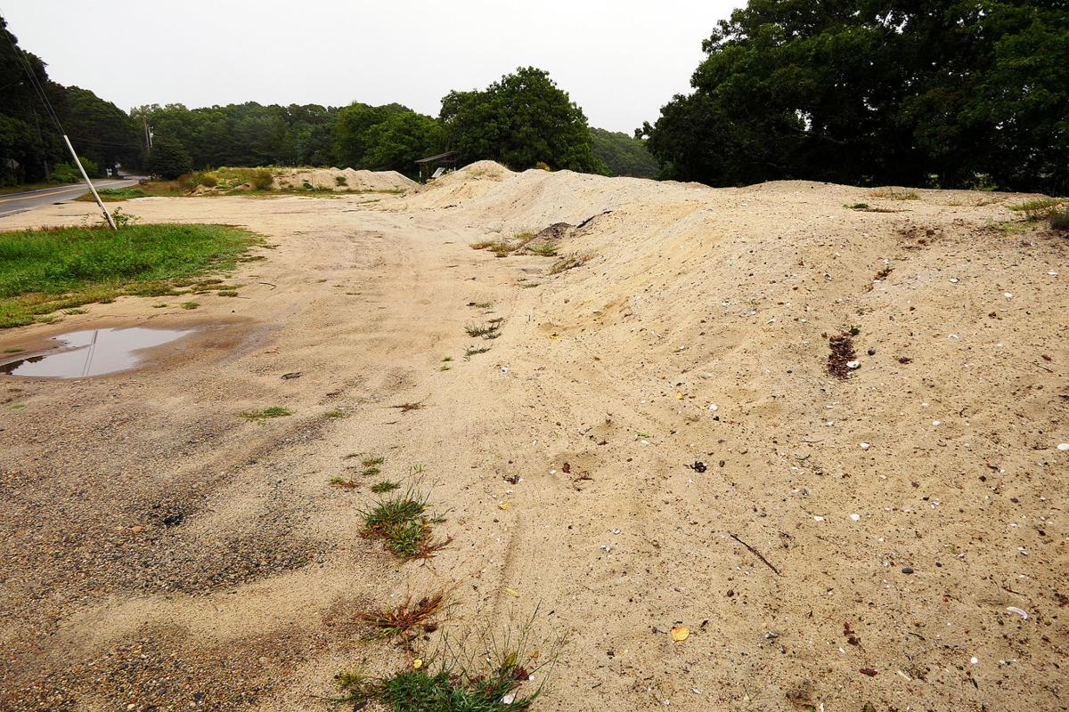 bourne dnr chief shore road sand pile gone by spring bourne news
