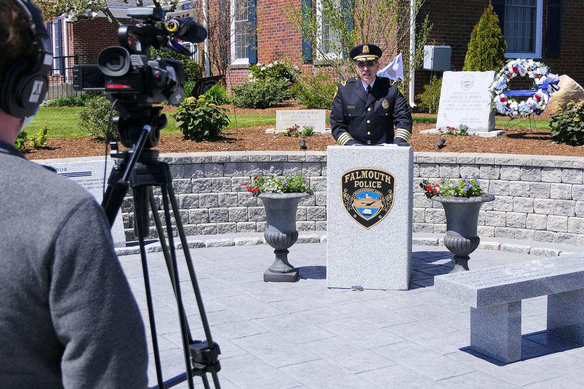 Falmouth Police Department Police Officer Memorial Ceremony, May 13.