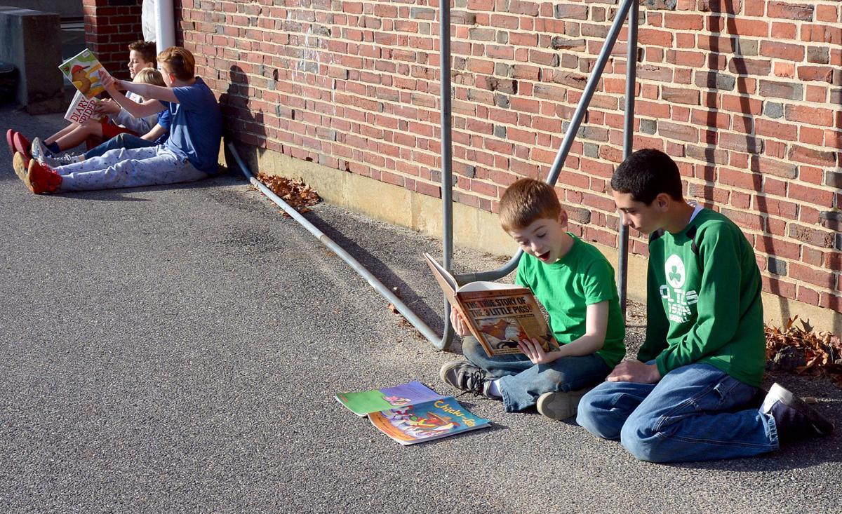 Reading Buddies Program At Morse Pond School