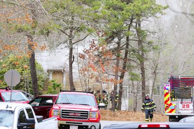 North Falmouth House Fire, April 22, 2020