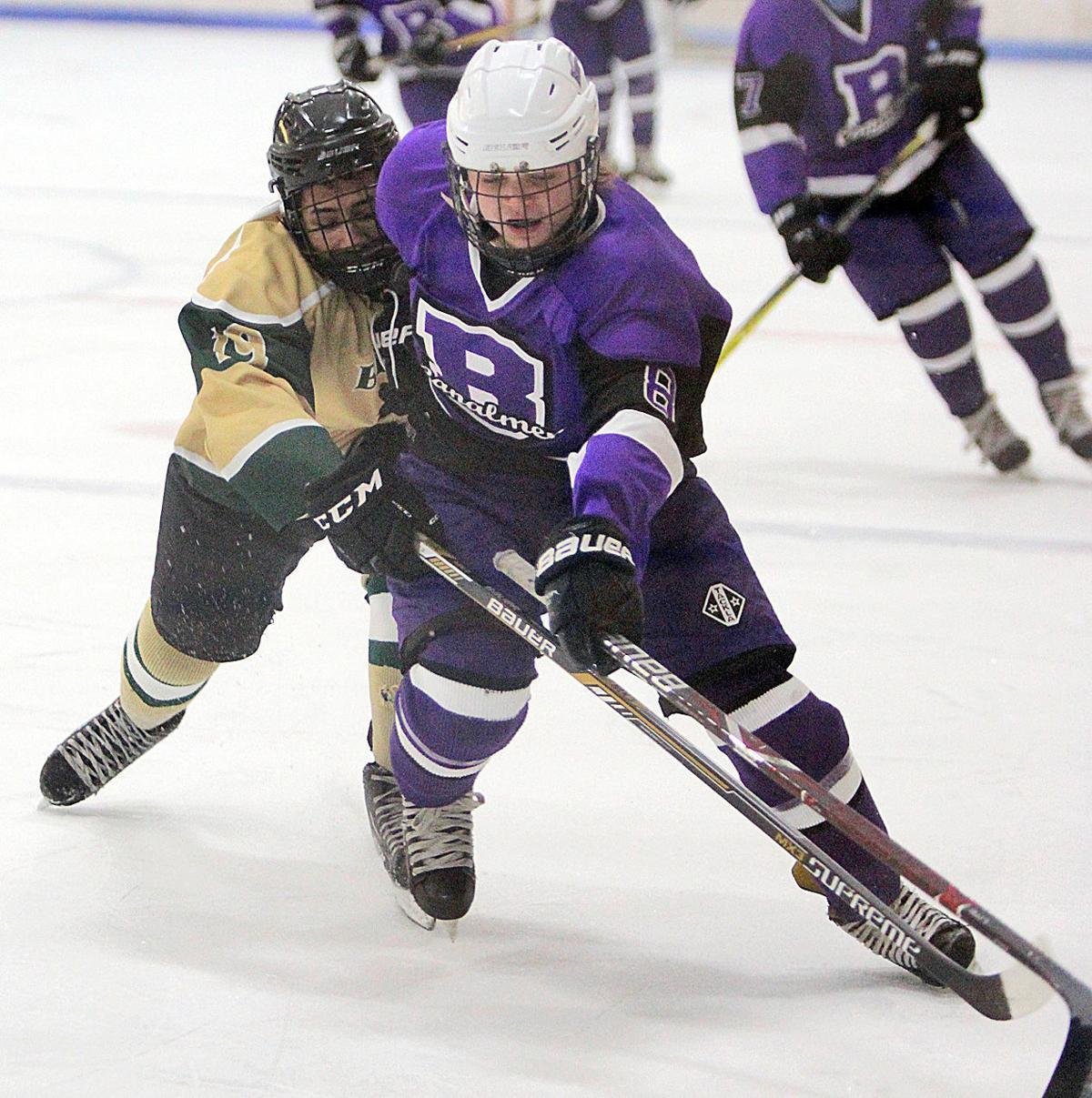 Bourne Boys' Hockey vs. GNB Voc-Tech - January 12, 2019