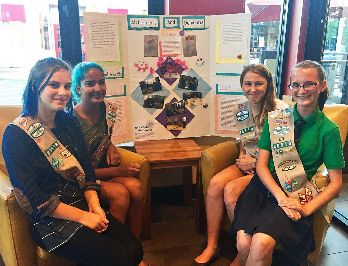 Girl Scout Cadette Project Looks At Dementia And Altzeimer's