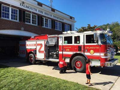 New Falmouth Fire Engine