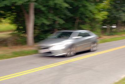 Blurry Car