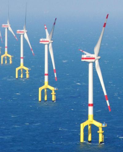 Off-Shore Wind Turbines Increasingly Popular