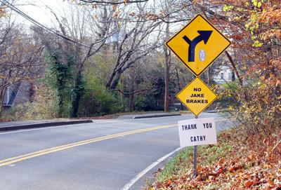 No Jake Brake' Signs Removed From Woods Hole Road | Falmouth