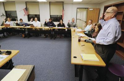Bourne Superintendent Search Committee Swearing In