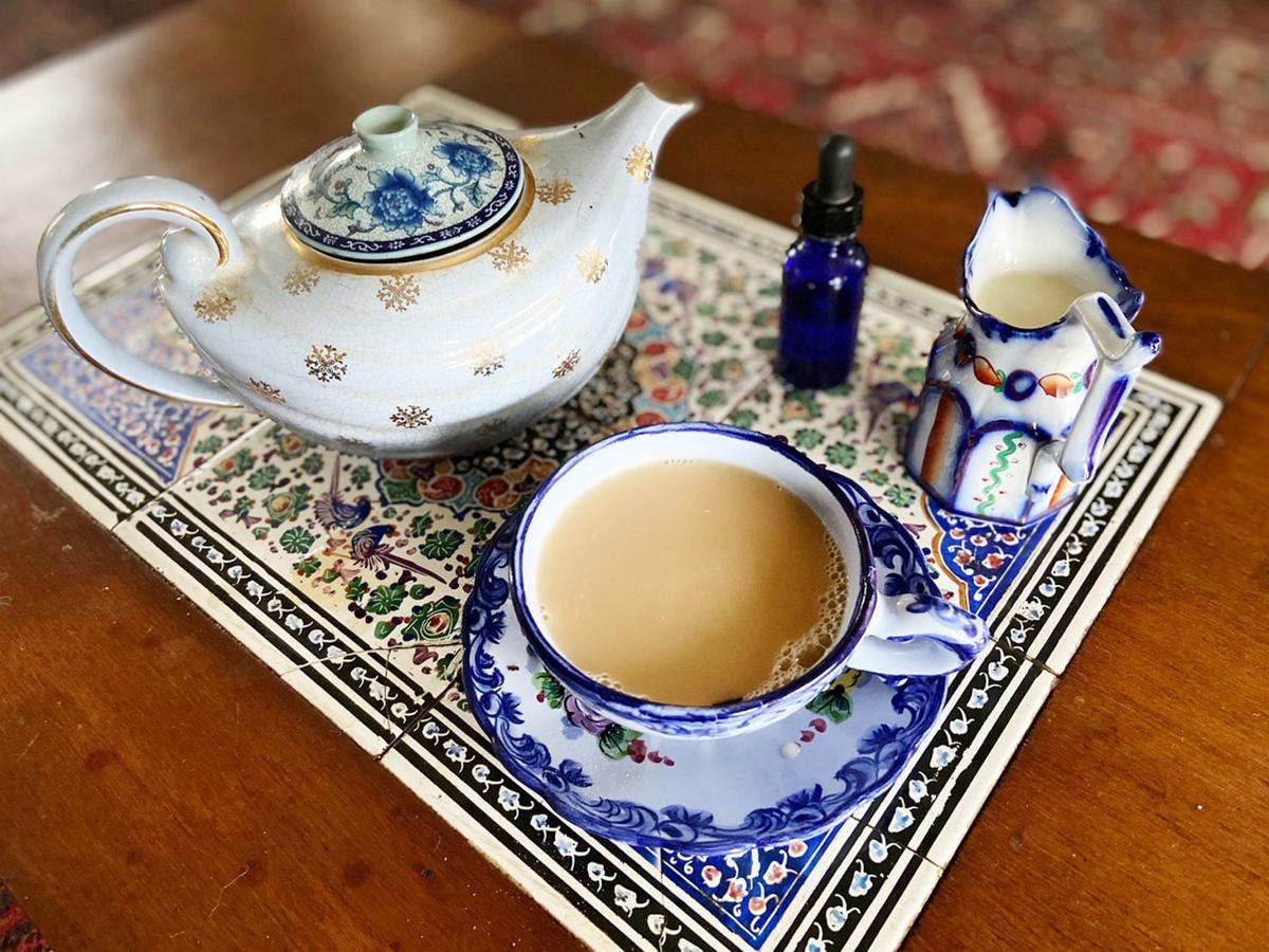 Dunya BLUE TEA