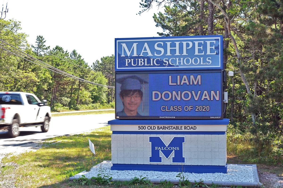 MMHS Lighted Sign Highlights Graduates