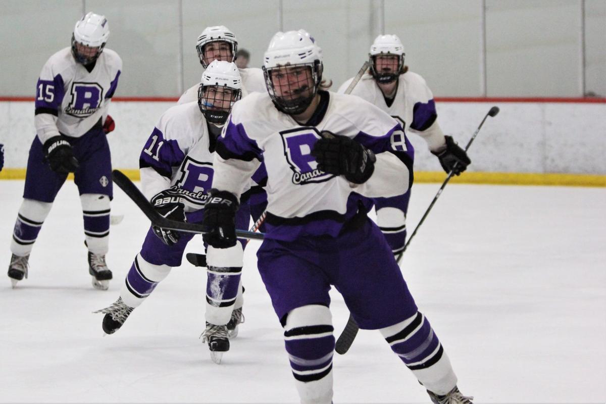 Bourne Boys' Hockey vs. Wareham/Carver — February 12, 2020